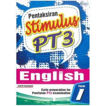Pentaksiran PT3 Stimulus English Form 1