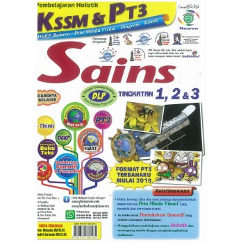 Pembelajaran Holistik KSSM & PT3 Sains