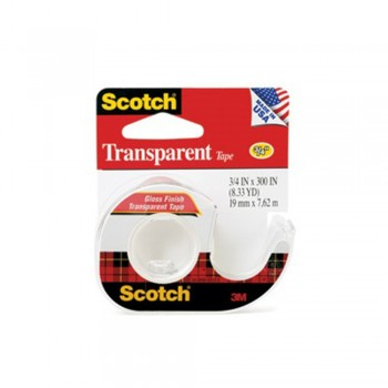 3M 157S Transparent Tape 19mm x 7.62m