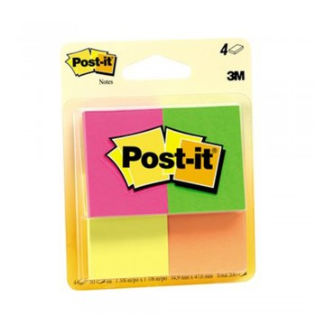 3M 653-4AF Post-It Cape Town 1.5x2  50's