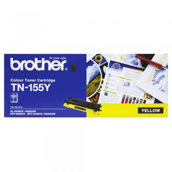 Brother TN-155 High Cap Toner Cartridge - Yellow