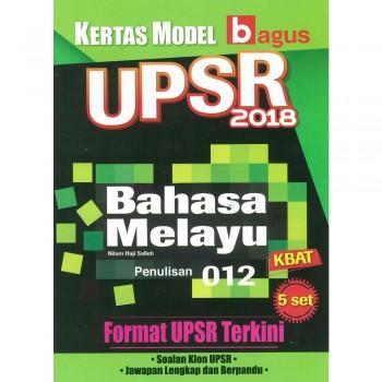 Kertas Model UPSR 2018 Bahasa Melayu Penulisan 012 KBAT
