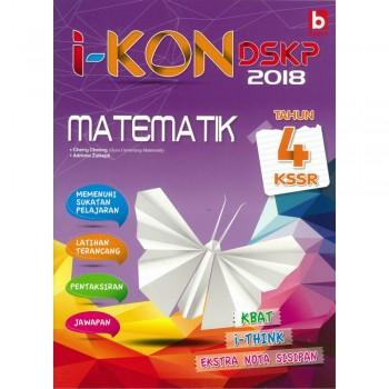 i-KON DSKP 2018 Matematik Tahun 4 KSSR