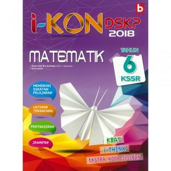 i-KON DSKP 2018 Matematik Tahun 6 KSSR