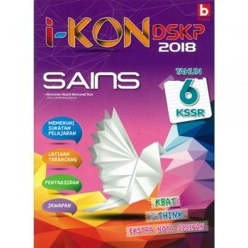 i-KON DSKP 2018 Sains Tahun 6 KSSR