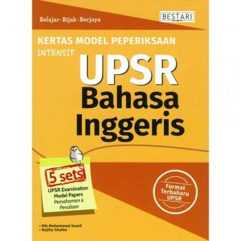 Kertas Model Peperiksaan Intensif UPSR Bahasa Inggeris