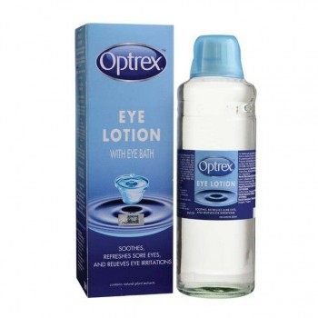 Optrex Eye Lotion With Eye Bath 300ML