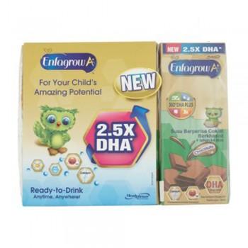 Enfagrow A+ RTD Step 4 - Chocolate (180ml x 3 Packs)