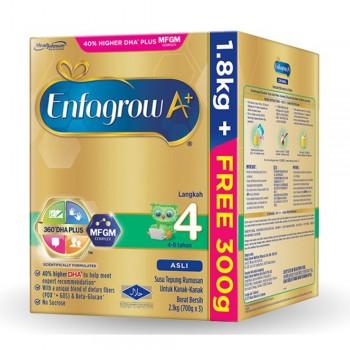 Enfagrow A+ Step 4 Milk (4-6 years) MFGM (1.8kg Free 300g) Original