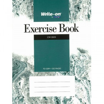 CW 2503 Write-on by Campap Exercise Book 70 gsm 120 pages