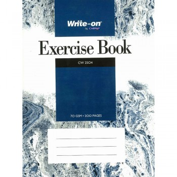 CW 2504  Write-on by Campap Exercise Book 70 gsm 200 pages