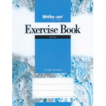 CW 2511 Write-on by Campap Exercise Book 70 gsm 80 pages