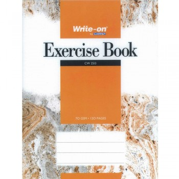 CW 2513 Write-on by Campap Exercise Book 70 gsm 120 pages