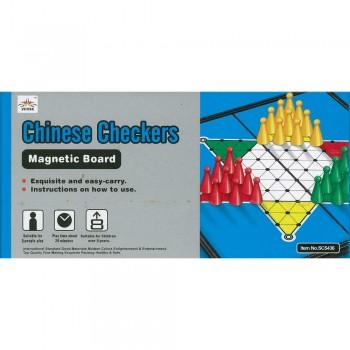 Chinese Checkers Magnetic Board