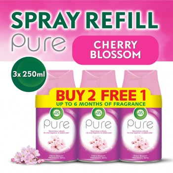Air Wick Pure Freshmatic Refill Cherry Blossom Value Pack (250ml x 3)