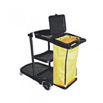 Janitor Cart c/w Cover-JC-314