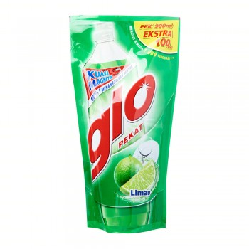 Glo Pekat Lime Dishwashing Liquid 1L RefIll
