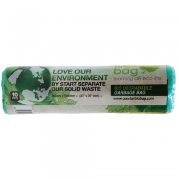 M10G Bio-D Garbage Bag  M Size - Green
