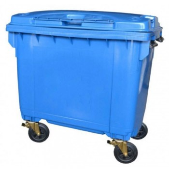 LEADER Mobile Garbage Bins BP 660 Blue