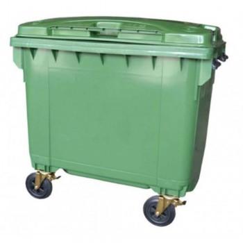 LEADER Mobile Garbage Bins BP 660 Green
