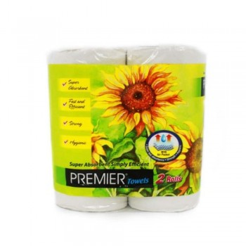 Premier Kitchen Towel Pack 2 roll X 60 (Item No: F09-04) A3R1B160