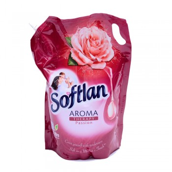Softlan Aroma Therapy Passion (Red) Fabric Conditioner 1.5L Refill