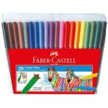 Faber Castell 20 Colour Pens 154320