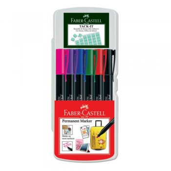 Faber Castell Permanent Marker Creative box of 6 - 156466