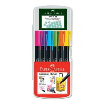 Faber Castell Permanent Marker Creative box of 6 - 156460