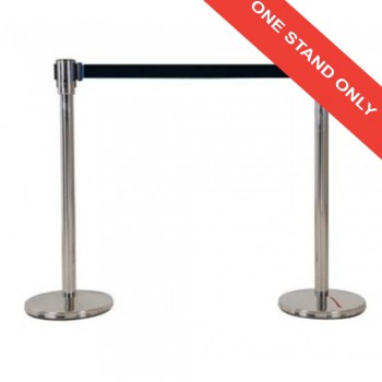 Retractable Q-UP Stand QP33BK - (Black)