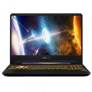 "Asus TUF FX505G-MES182T 15.6"" FHD Gaming Laptop - i7-8750H, 8GB DDR4, 1TB + 128GB SSD, NVD GTX1060 6GB, W10, Gold Steel"