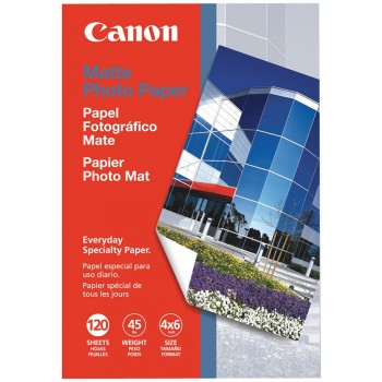 "Canon MP-101 4"" X 6"" Matte Photo Paper (120shts)"