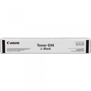 Canon Cartridge 034 Black Toner