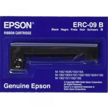 Epson ERC 09 Ribbon - Black (Item No: EPS ERC 09)