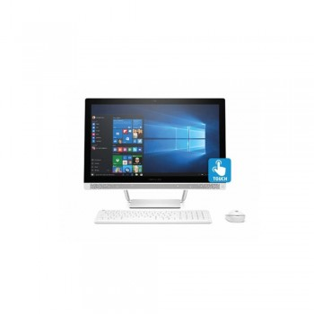 "HP Pavilion Touchsmart 27-r177d 27"" AIO Desktop PC - i7-8700T, 8GB DDR4, 1TB, AMD R530, W10"