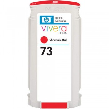 HP 73 DesignJet Ink Cartridge 130-ml - Chromatic Red (CD951A)