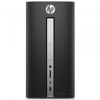 HP Pavilion 570-P023D Desktop PC - i3-7100, 4gb ram, 1tb hdd, Intel, W10, Black