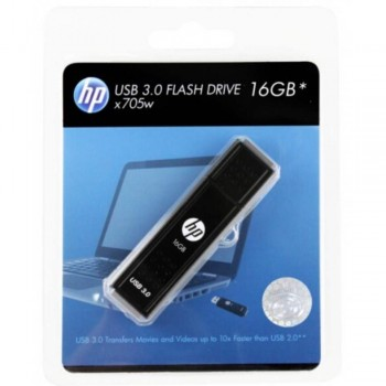 HP X705W Stainless Steel USB Flash Drive - 16GB