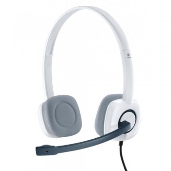 Logitech Stereo Headset H150 - Cloud White