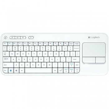 Logitech K400 Wireless Touch Keyboard-White