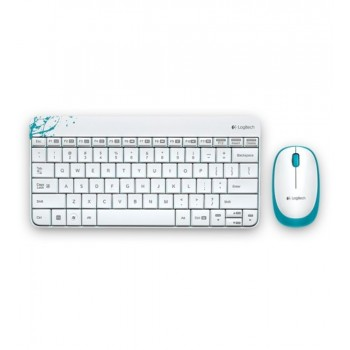 Logitech Wireless Combo MK240 - White