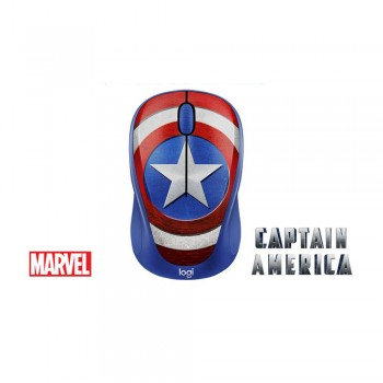 Logitech M238 Marvel Collection - Captain America