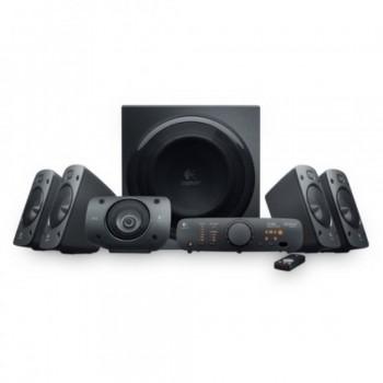Logitech Speaker System Z906 - THX-Certified 5.1 System, 500W (RMS) Theater-Quality Sound