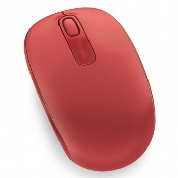 Microsoft Wireless Mobile Mouse 1850 - Flame Red (Item No: MSU7Z-00035)