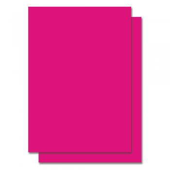 Fluorescent Color Label Sticker - A4 size - 100 sheets - Pink (Item No: C01-05 PINK)