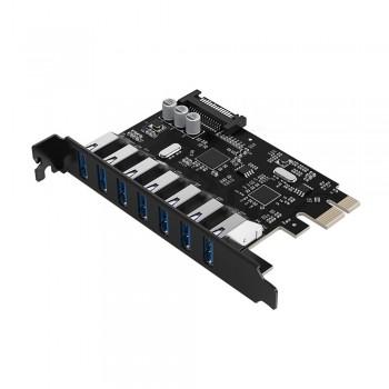 Orico PVU3-7U PCI-E to 7 USB 3.0 Port Express Card