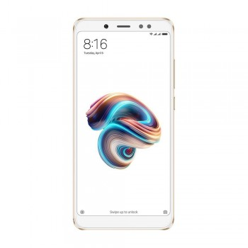Redmi Note 5 5.99'' FHD+ SmartPhone - 64gb, 4gb, 13mp, 4000mAh, Qualcomm Snapdragon 636, Gold
