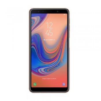 """Samsung Galaxy A7 (2018) 6.0"""" Super AMOLED FHD+ SmartPhone - 128gb, 4gb, 24mp, 3300mAh, Exynos 7885, Gold"""