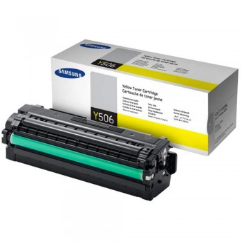 Samsung CLT-506L (3.5k) Toner Cartridge - Yellow (Item No : SG CLT-Y506L)