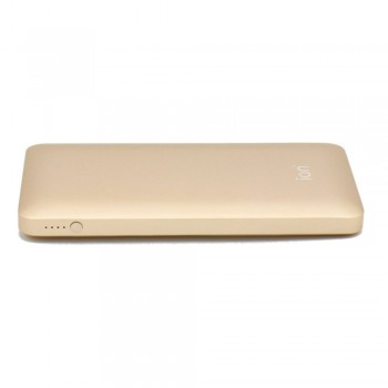 Ion PQ72 Qualcomm Quick Charge 3.0 5.4A 30W Dual USB 10000mAh Ultra-Slim, Gold
